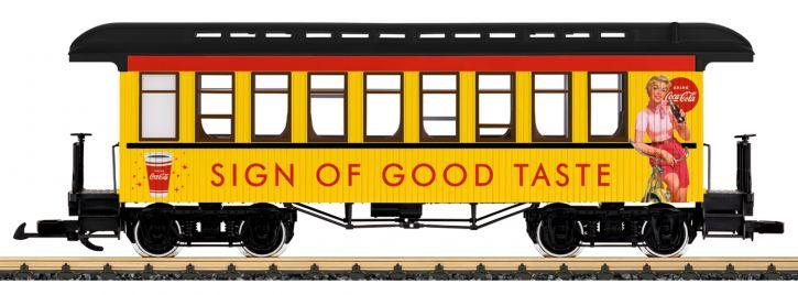 LGB 36812 Personenwagen Coca Cola    Spur G