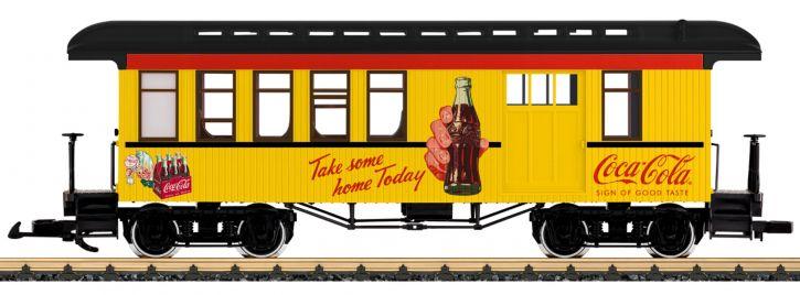 LGB 36818 Halbgepäckwagen Coca Cola   Spur G
