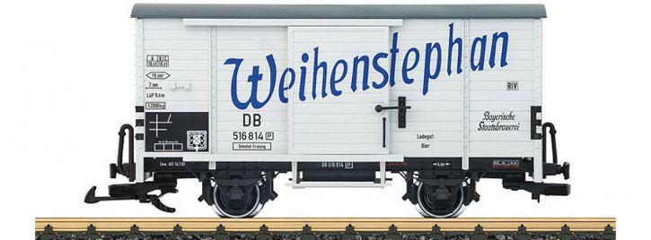 ausverkauft | LGB 43357 Bierwagen Weihenstephan DB | Spur G