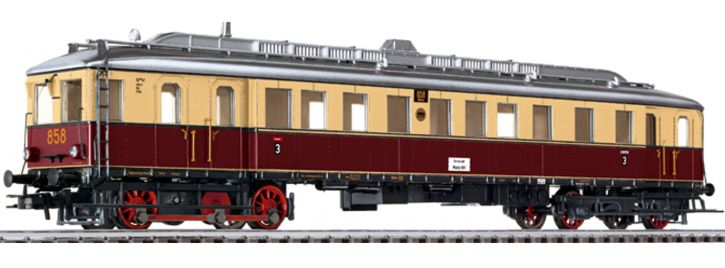 LILIPUT 133021 Dieseltriebwagen VT 857 DRG   DC analog   Spur H0