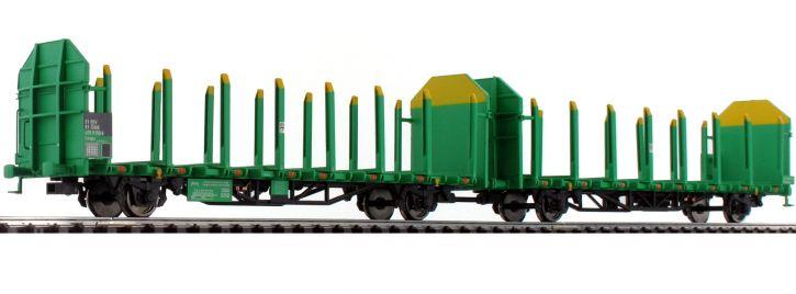 LILIPUT 235242 Rungenwagen-Einheit Holztransport ÖBB | DC | Spur H0