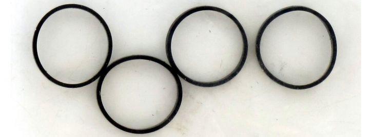 LILIPUT 939382 Haftreifen, 4 Stück   10,5mm Durchmesser   Spur H0