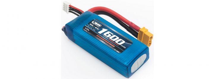 LRP 430067 LiPo Akku 1600mAh | 90C/45C | 11.4V | LiHV | XT60 | 3S