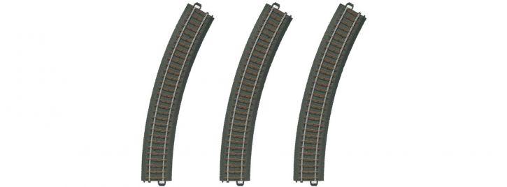 märklin 20230 Gleis gebogen | 30 Grad |R2  437,5 mm | 3 Stück | C-Gleis Spur H0