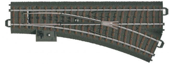 märklin 20612 Gleis Weiche rechts | 24,3 Grad | 188,3 mm | C-Gleis Spur H0