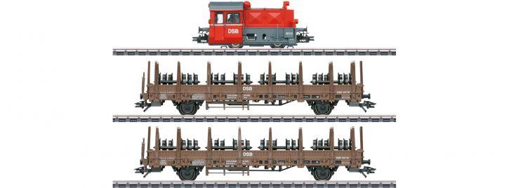märklin 26617 Zugpackung Köf II + Rungenwagen DSB | mfx+ Sound | Spur H0