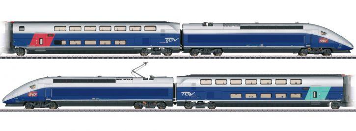 märklin 37793 Hochgeschwindigkeitszug TGV Euroduplex SNCF   mfx+ Sound   Spur H0