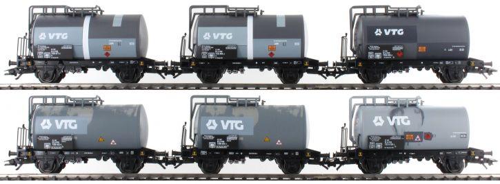 märklin 46436 Kesselwagen-Set 6-tlg. gealtert VTG   Spur H0