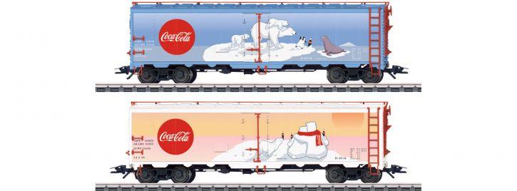 märklin 45687 US Kühlwagen-Set Coca Cola | Spur H0
