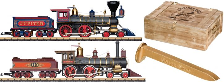 märklin 55007 US Lok-Set | Golden Spike | Limited Edition | mfx/DCC Sound | Spur 1 kaufen