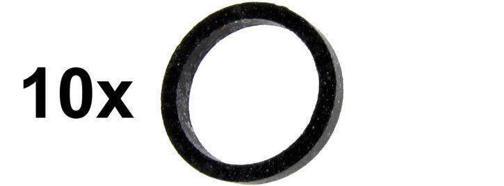 märklin 7151 Haftreifen | Durchmesser 6 mm | Packung mit 10 Stück | Ersatzteil Spur H0