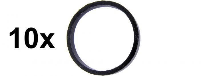 märklin 7153 Haftreifen | Durchmesser 11 mm | Packung mit 10 Stück | Ersatzteil Spur H0