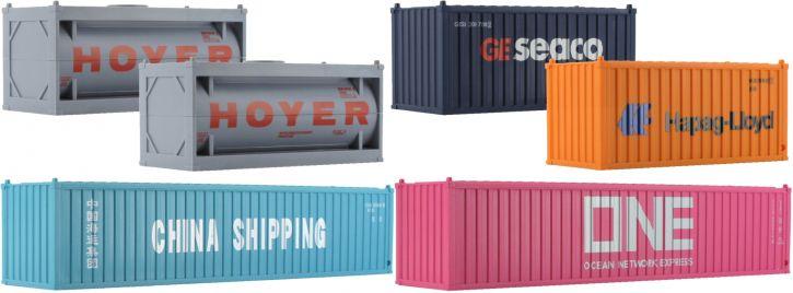 märklin 72453 Start Up Container-Set   6 Stück   Spur H0