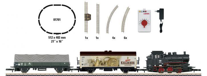 märklin 81701 Startpackung BR 89 Güterzug DB | 230V | Spur Z