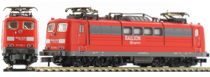 märklin 88261 E-Lok BR 151 DB AG Railion | Ep. VI | Spur Z