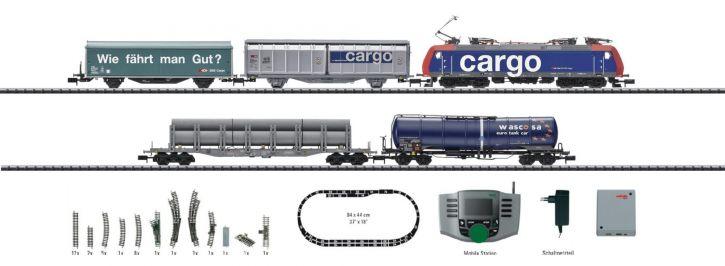 ausverkauft | MINITRIX 11131 Digital Startpackung Schweiz E-Lok Serie 482 SBB Spur N