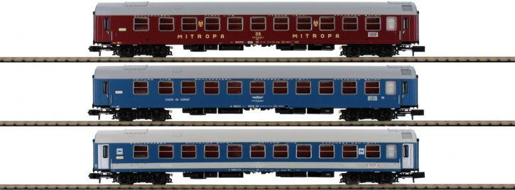 ausverkauft | MINITRIX 15996 Schnellzugwagen-Set Balt-Orient-Express DR | Spur N