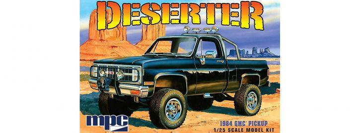 MPC 847 GMC Pickup Deserter (1984)   Auto Bausatz 1:25