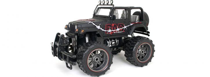 New Bright RC 91099 Jeep Wrangler BAD Street RC Auto Fertigmodell 1:15