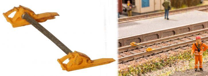 NOCH 13627 Radvorleger-Set 3Dminis Fertigmodell Spur H0