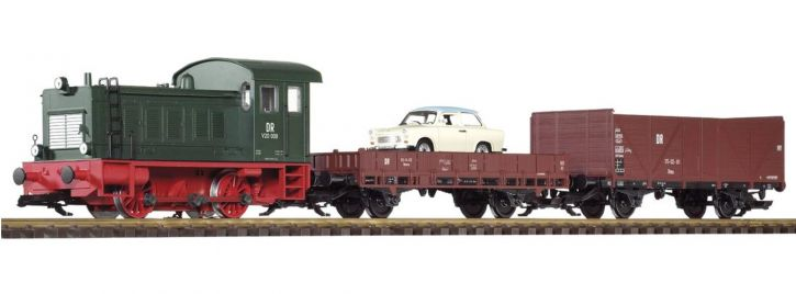 PIKO 37121 Start-Set G Start-Set Güterzug V20  |  DR | Sound | Spur G