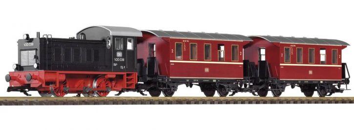 PIKO 37126 Start-Set Personenzug V20   DB   mit Sound   Spur G