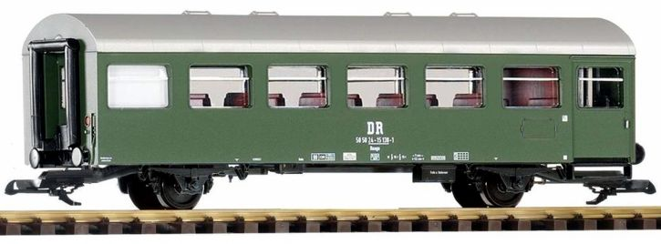 PIKO 37682 Personenwagen Reko 2-achs. Bage DR   Spur G