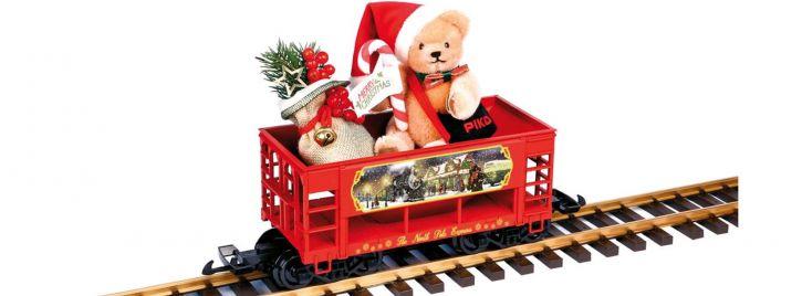 PIKO 37813 Weihnachtswagen mit Bär von Hermann | Spur G