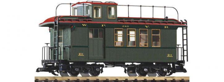 PIKO 38634 Güterzugbegleitwagen m. Schlusslicht WP/YR | Spur G