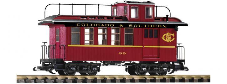 PIKO 38646 Güterzugbegleitwagen mit Schlusslichtern C&S | Spur G