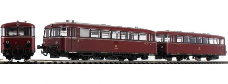 ausverkauft | PIKO 52723 Schienenbus 798 + Steuerwagen 998.6 DB | AC-Sound | Spur H0