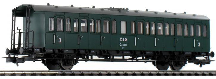 PIKO 53162 Personenwagen 3.Kl. C3-4010 CSD | DC | Spur H0