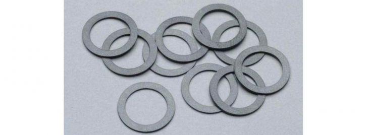 PIKO 56026 Haftreifen 10 mm   1 Packung mit 10 Stück   Spur H0