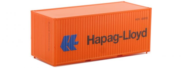 PIKO 56202 3er Set 20 ft Container Hapag-Lloyd | Spur H0