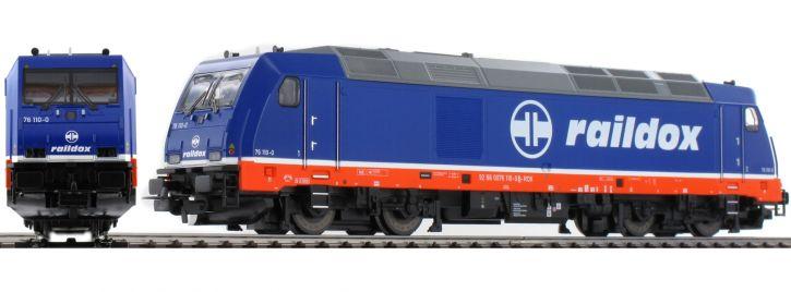 ausverkauft | PIKO 57341 Diesellok BR 285 Raildox TRAXX | Raildox | AC digital | Spur H0
