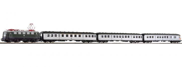 PIKO 58113 S-Bahn Zug E-Lok BR 141 + Silberlinge   DC analog   Spur H0