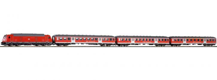 PIKO 58133 Zugpackung BR245 mit Nahverkehrszug DB AG | DC analog | Spur H0
