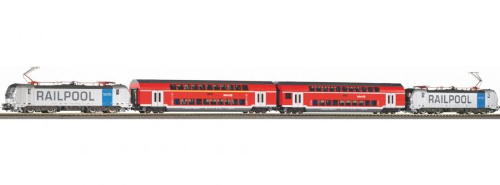 PIKO 58215 Zugset Franken-Thüringen-Express DB AG | AC-Digital | Spur H0