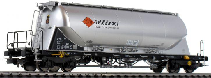 PIKO 58435 Silowagen Uacns Feldbinder Messefahrzeug | DC | Spur H0