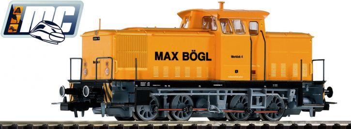 PIKO 71138 Diesellok V60 D LEW Werklok Max Bögl | AC Sound | Spur H0