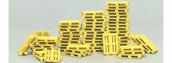 Preiser 17104 Europaletten | 60 Stück | Bausatz 1:87