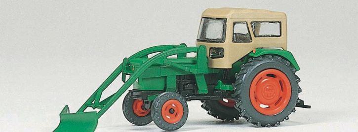 Preiser 17924 DEUTZ D 6206 Schlepper   Landwirtschaftsmodell 1:87