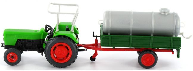 Preiser 17937 Deutz D 6206 mit Güllefass | Landwirtschaftsmodell 1:87