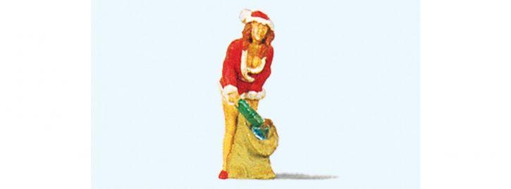 Preiser 29028 Christmas Girl mit Gabensack | Miniaturfigur 1:87