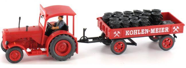 "Preiser 38041 Kohlenwagen ""Meier"" Landwirtschaftsmodell 1:87"