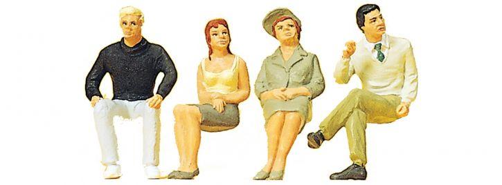 Preiser 63074 Sitzende Personen | Figuren Spur 1