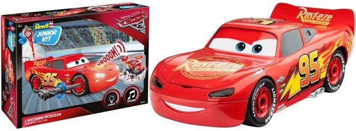 Revell 00860 Lightning McQueen | mit Sound + Licht | Auto Steckbausatz
