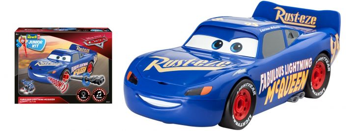 Revell 00863 The Fabulous Lightning McQueen | Junior Kit Bausatz