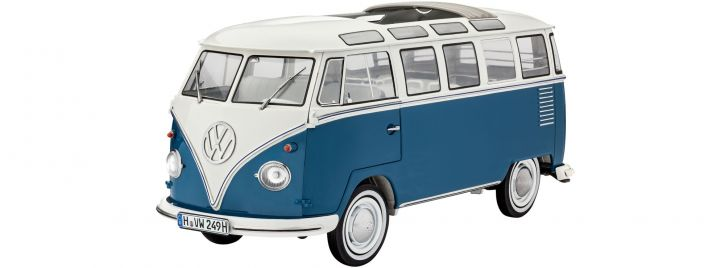 Revell 07009 Volkswagen T1 Samba Bus   Auto Bausatz 1:16