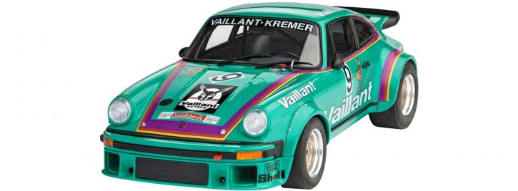 Revell 07032 Porsche 934 RSR Vaillant | Auto Bausatz 1:24